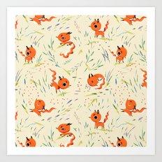 Fox Tales - The Fox Art Print