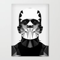 Polygon Heroes - The Hor… Canvas Print