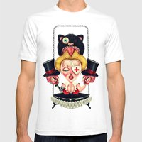 Hanging from Above Mens Fitted Tee White SMALL