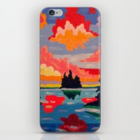 Northern Sunset Surreal  iPhone & iPod Skin