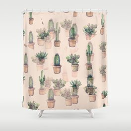 Shower Curtain - cactus mirror?? - franciscomffonseca