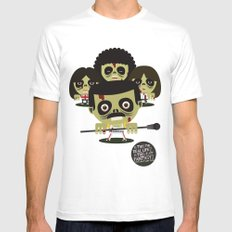 queen zombies White Mens Fitted Tee SMALL