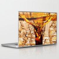 jesus Laptop & iPad Skins featuring Jesus by Ganech joe