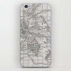 Vintage Oceania Map iPhone & iPod Skin