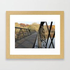 A Different Perspective on the Bridge Framed Art Print