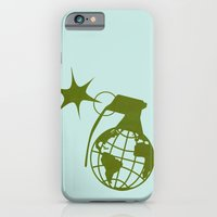 iPhone & iPod Case featuring Earth Grenade by Mamoizelle