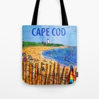 Summer Down The Cape Tote Bag
