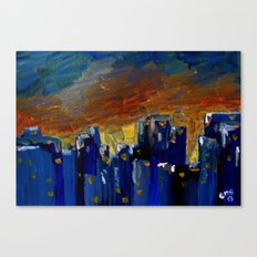 New Year Gift Canvas Print