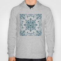 Decorative Pattern In Cr… Hoody