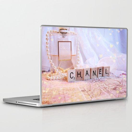 Chanel Romance Laptop & iPad Skin