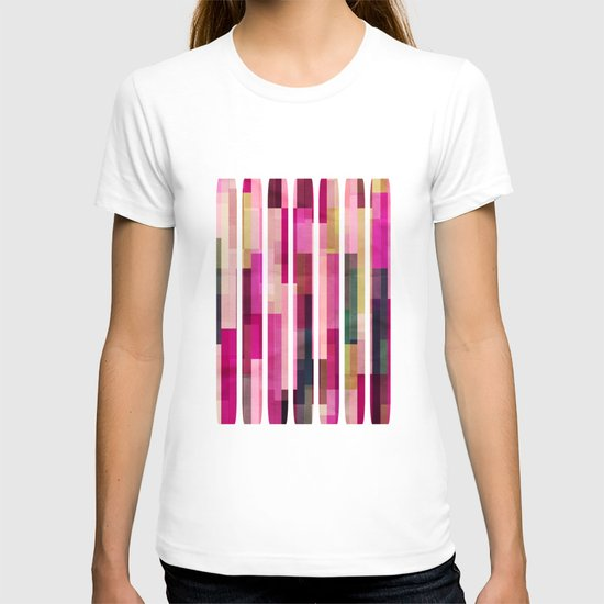 Pinks and Parallels T-shirt