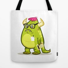Monster Nerd Tote Bag