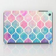 Rainbow Pastel Watercolo… iPad Case