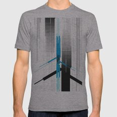 Indo Mens Fitted Tee Athletic Grey SMALL