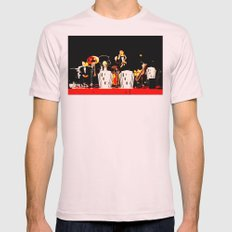 Cotton Club Crooners Mens Fitted Tee Light Pink SMALL