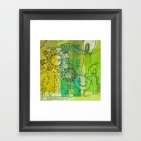 My Dreams Are Mad Framed Art Print