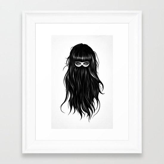 It Girl Framed Art Print