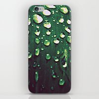 Riding Out The Rain iPhone & iPod Skin