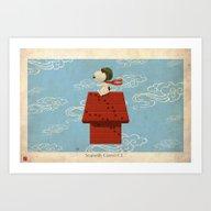 Sopwith Camel F.1 AKA Sn… Art Print