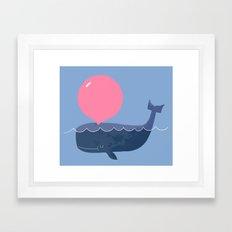 Blubber Gum Framed Art Print