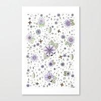Violetas Canvas Print