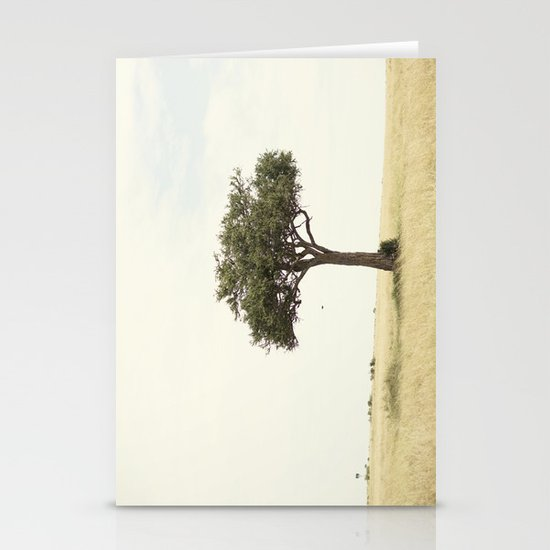tree hugger::kenya Stationery Card
