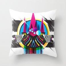 Wild Stripes Throw Pillow