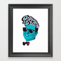 Gangnam Style Framed Art Print