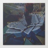 Lychee Mosaic Mosaic Canvas Print