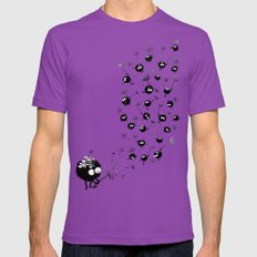 Have Fun Mens Fitted Tee Ultraviolet SMALL