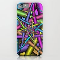 Star Fractal iPhone 6 Slim Case