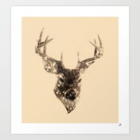 Cervus (Classic Version) Art Print