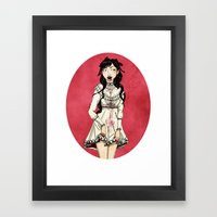 Vampire Framed Art Print