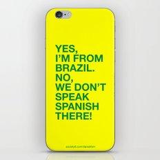 From Brazil I iPhone & iPod Skin