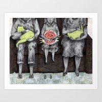 Souveniers. Art Print