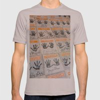 Hollywood Hands Mens Fitted Tee Cinder SMALL