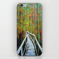 Walkway  In The Woods  iPhone & iPod Skin