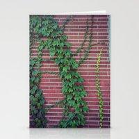 Brick Wall Ivy Stationery Cards