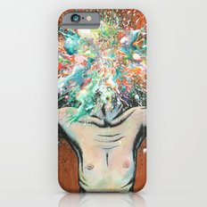 The Vulnerability Evoked in Failing to Capture the Mind's Ceaselessly Combusting Ephemera iPhone 6 Slim Case