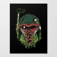 Monster Fett Canvas Print