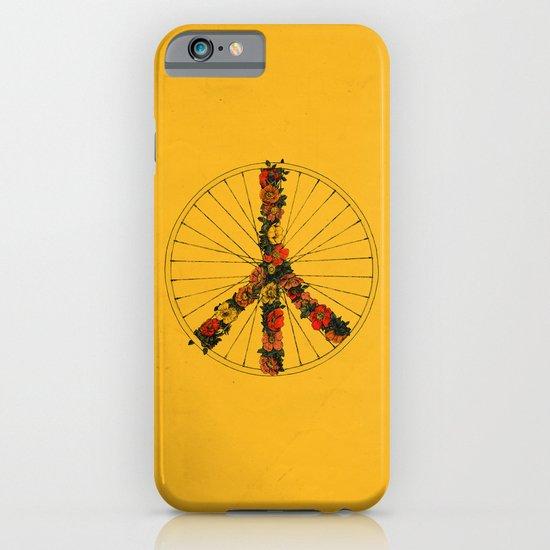 Peace & Bike (Colors) iPhone & iPod Case