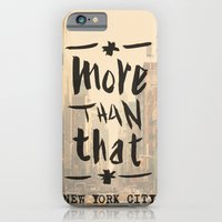 More Than That - New York City - iPhone 6 Slim Case
