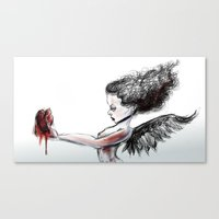 The Heart Theif Canvas Print