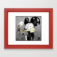 Introducing LocoCrazy Mouse Framed Art Print
