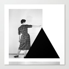 Be My Triangle Canvas Print