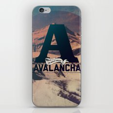 AVALANCHA iPhone & iPod Skin