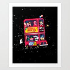 Universal Cereal Bus Art Print