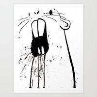 Zombie Gopher Art Print