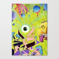 Random Mess Canvas Print