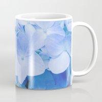 Hydrangea Macrophylla Mug